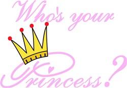 Whos Your Princess? print art