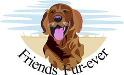 Friends Fur-Ever print art