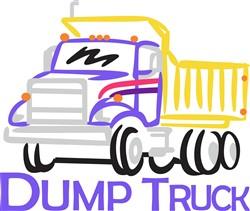 Dump Truck print art