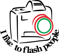 Flash People print art
