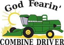 God Fearin Combine Driver print art