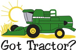 Got Tractor? print art