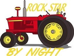 Rock Star Tractor print art