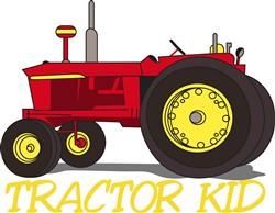 Tractor Kid print art