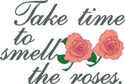Smell the Roses print art