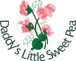 Daddys Little Sweet Pea print art