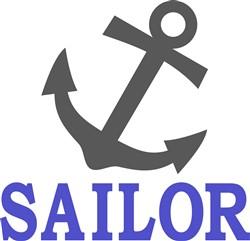 Sailor Anchor print art