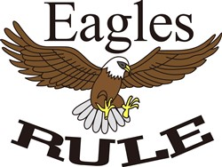 Eagles Rule print art