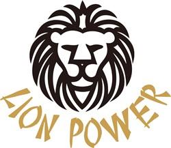 Lion Power print art