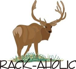 Rack-aholic print art