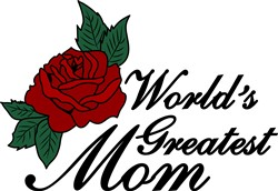 Worlds Greatest Mom print art
