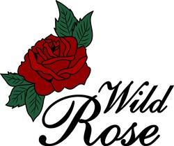Wild Rose print art