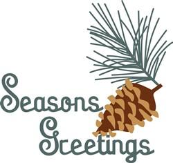 Seasons Greeting print art