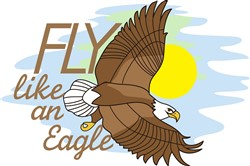 Fly Like an Eagle print art