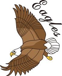 Eagles print art