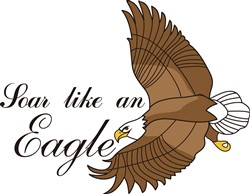 Soar Like an Eagle print art