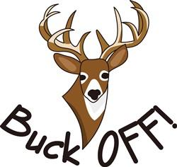 Buck Off print art