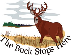 The Buck Stops Here print art