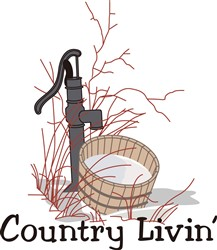 Country Livin print art