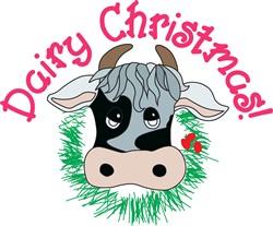 Dairy Christmas print art
