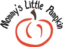 Mommys Little Pumpkin print art