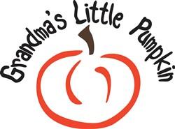 Grandmas Little Pumpkin print art