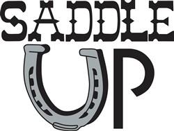 Saddle Up print art