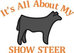 Show Steer print art