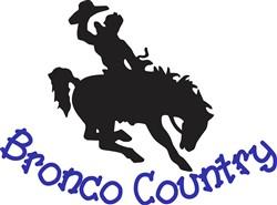 Bronco Country print art