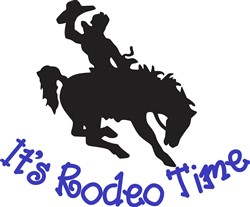 Its Rodeo Time print art