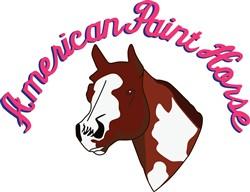 American Paint Horse print art