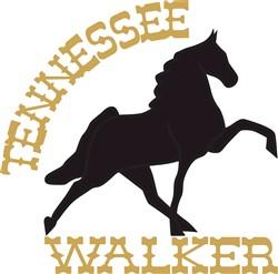 Tennessee Walker print art
