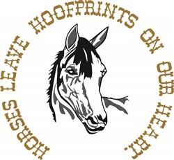 Hoofprints On Our Hearts print art