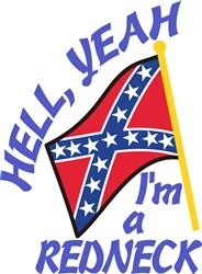 Hell Yeah Redneck print art