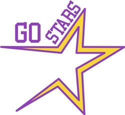 Go Stars print art
