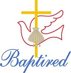 Baptized print art