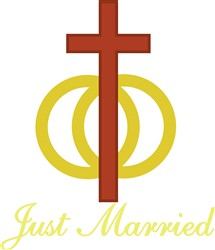 Just Married print art