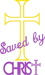 Saved by Christ print art