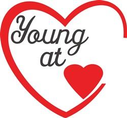 Young At Heart print art