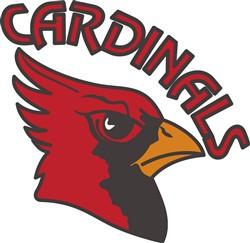 Cardinals Mascot print art