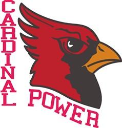 Cardinal Power print art
