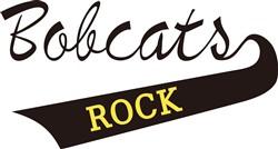 Bobcats Rock print art