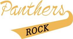 Panthers Rock print art