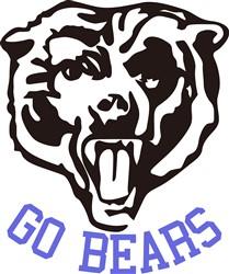 Go, Bears! print art