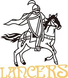 Lancers print art