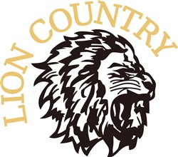 Lion Country print art