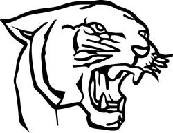 Panther print art