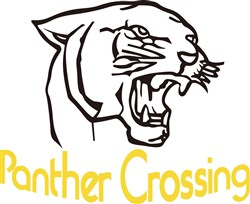 Panther Crossing print art