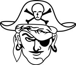 Pirates print art