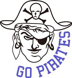 Go Pirates print art